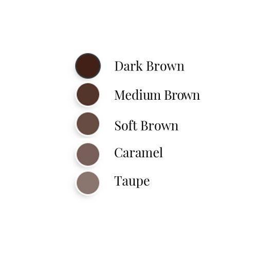 Uzacu zīmulis Depend Slim & Thin Dark Brown, 0.05 g