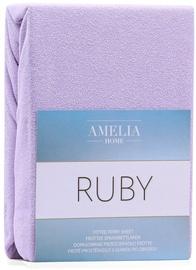Palags AmeliaHome Ruby, violeta, 240x200 cm, ar gumiju