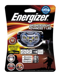 Pealamp Energizer Pro Advanced 7LED +3xAAA