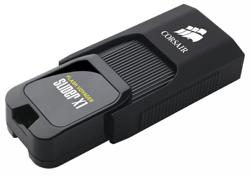 USB atmintinė Corsair Voyager Slider X1, USB 3.0, 128 GB