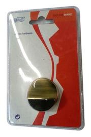 Durų atrama DS084, žalvariuota, 3,9 x 1,7 cm