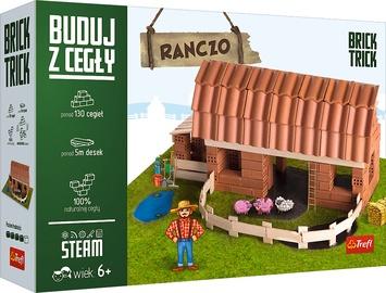 Konstruktors Trefl Brick Trick Ranch XL, 130 gab.
