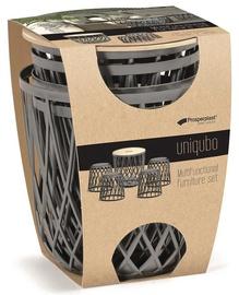 Prosperplast Uniqubo Multifunctional Furniture 5pcs Set Grey
