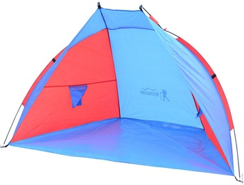 Četrvietīga telts Royokamp Sun, zila/sarkana