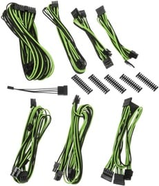 BitFenix Alchemy 2.0 BQT SP10 PSU Cable Kit Black/Green