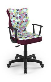 Детский стул Entelo Norm ST32, черный, 400x370x1010 мм