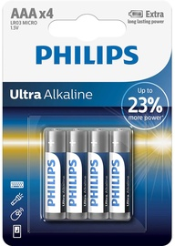 Philips Ultra Alkaline AAA 4x