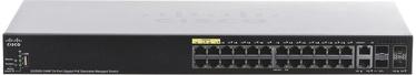 Сетевой концентратор Cisco SG350X-24MP-K9-EU