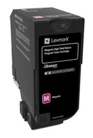 Lexmark 74C2HM0 Return Program Toner Cartridge Magenta