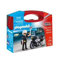 Playmobil City Action Police Carry Case 5648