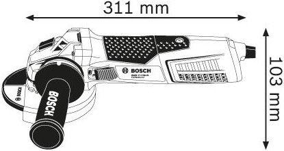 Bosch GWS 19-125 CIST Angle Grinder