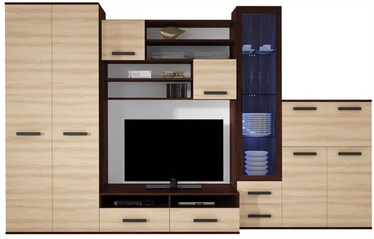 Stolar Wall Unit Orion Wenge