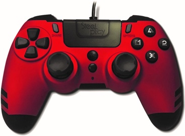 Steel Play MetalTech Wired Controller Red