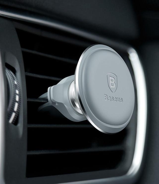 laikiklis Auto mag 360° pasukamas Baltas