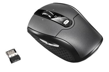 Kompiuterio pelė Fujitsu WI610 Black, bevielė, optinė