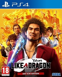 Игра для PlayStation 4 (PS4) Yakuza: Like A Dragon Day Ichi Steelbook Edition PS4