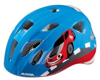 Шлем Alpina Ximo, синий/красный, 490 - 540 мм