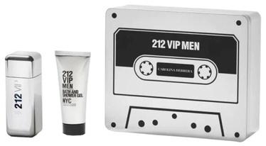 Набор для мужчин Carolina Herrera 212 VIP Men 2pcs Set 200 ml EDT