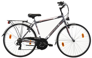 "Dviratis Bottari Good Bike Oxford 50cm 28"" Grey"
