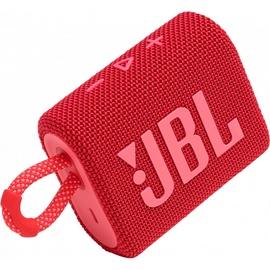 Belaidė kolonėlė JBL GO 3, raudona, 4 W