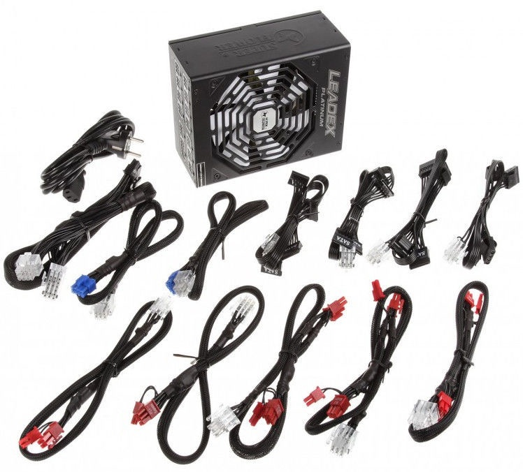 Super Flower Leadex 80 Plus Platinum PSU 1200W Black