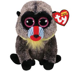Pliušinis babuinas TY Beanie Boos 36895, 15 cm, nuo 3 m.