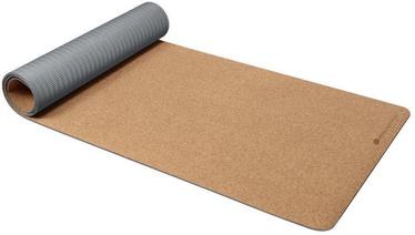 Ecowellness Gymnastic Mat 183x61cm Grey/Brown