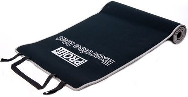PROfit Exercise Mat 180x60x0.6cm Black/Grey