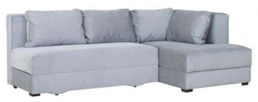 Bodzio Corner Sofa Judyta Velor Right Grey