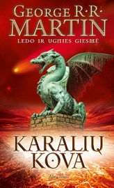 """Knyga Karalių kova. """"Ledo ir ugnies giesmė"""" 2 knyga"""
