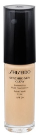 Shiseido Synchro Skin Glow Luminizing Fluid Foundation SPF20 30ml G2