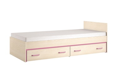 ML Meble Bonti 15 Bed Pink