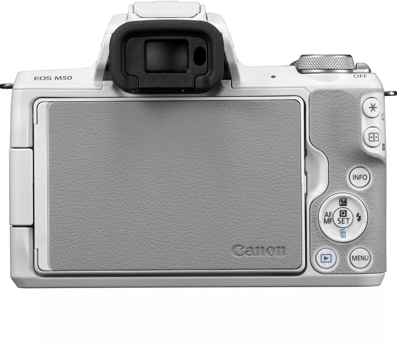 Canon EOS M50 EF-M 18-150mm IS STM White