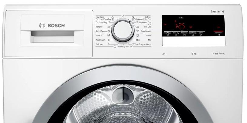 Bosch Serie 4 WTR85V11BY Dryer White