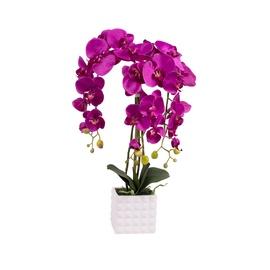 Dirbtinė orchidėja vazone, 65 cm