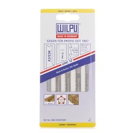 Siaurapjūklio pjūklelių komplektas Wilpu, UHC12 / A5035, 5 vnt.