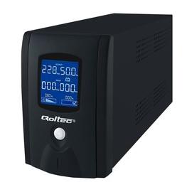 Qoltec UPS 600VA / 360W / LCD