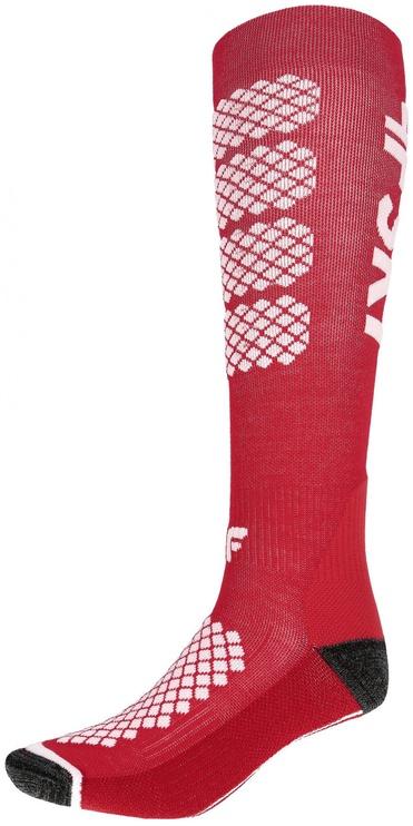 Носки 4F Sport, белый/красный
