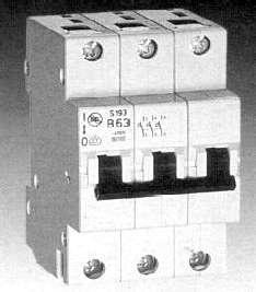 Automatinis jungiklis Ge 674654, 3P, C, 20A, 6kA