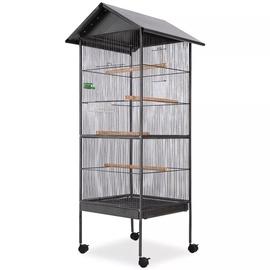 Клетка для птиц VLX 170409, 660 мм x 660 мм x 1550 мм