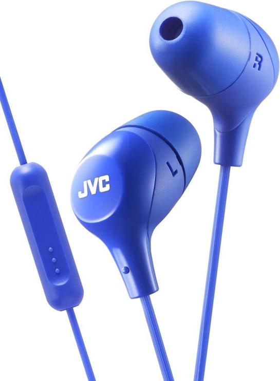 Ausinės JVC HA-FX38M Blue