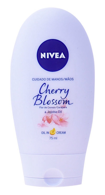 Rankų kremas Nivea Cherry Blossom & Jojoba Oil, 75 ml