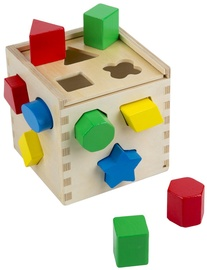 Melissa & Doug Shape Sorting Cube Classic Toy 10575