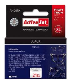 Rašalinio spausdintuvo kasetė Active Jet ACJ AH-21RX HP NR21 9351, juoda