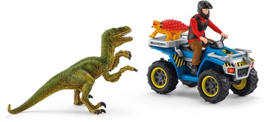 Schleich Dinosaurs Quad Escape From Velociraptor 41466