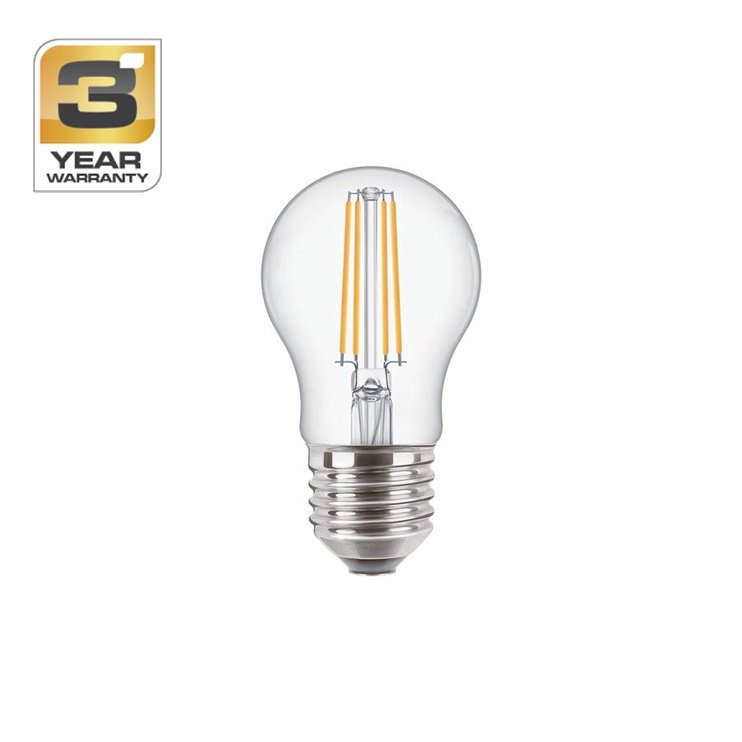 SPULDZE LED P45 4.3W E27 WW CL ND 470L