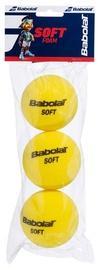 Tennisepall Babolat Soft Foam, kollane, 3 tk