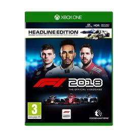 Kompiuterinis žaidimas F1 2018 Headline Edition, Xbox One