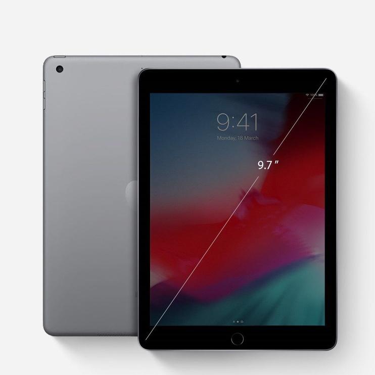 Ringke Dual Easy Glass Coated Flex Screen Protector For Apple iPad 9.7 2018/2017/Air/Air 2