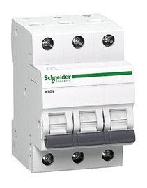 Automatinis jungiklis Schneider K60N, 3P, C, 40A, 6kA